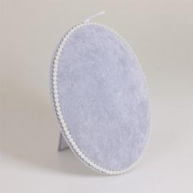 Zdjęcie - Ekspozytor owalny z perłami 29x22 cm