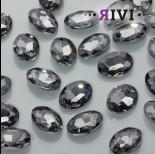 Zdjęcie - Kaboszon kryształowy black diamond 13x18mm