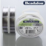 Zdjęcie - Beadalon linka powlekana 0.66mm grey color
