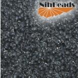 Zdjęcie - Koraliki NihBeads 12/0 Inside-Color Crystal/ Grey Line