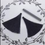 Zdjęcie - Chwost z wiskozy czarny 10cm