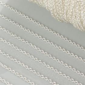 Zdjęcie - Łańcuszek rollo w kolorze srebrnym 1.5mm