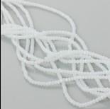 Zdjęcie - Kryształki oponki fasetowane white ice 1x2mm