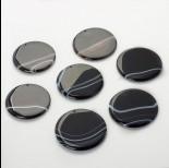 Zdjęcie - Zawieszka z sardonyksu czarna 50-60mm