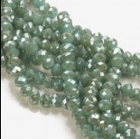Zdjęcie - Kryształki oponki metalic emerald 6x8mm