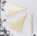 Chwost z wiskozy waniliowy 6,5cm