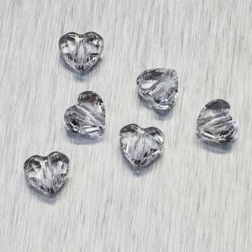 Zdjęcie - 5741 Swarovski love bead 8mm Crystal