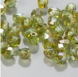 Zdjęcie - Fire Polish Light Peridot - Celsian (Z50520) 4mm