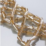 Zdjęcie - Kryształki column golden shadow 6x12mm