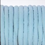 Zdjęcie - Rzemień szyty błękitny 6mm