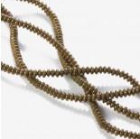 Zdjęcie - Hematyt platerowany dysk matowy brązowy 4x2mm