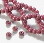 Zdjęcie - Ceramiczne kulki różowe 12mm