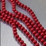 Zdjęcie - 5810 perły Swarovski 6mm Red Coral