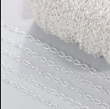 Zdjęcie - Łańcuch rollo w srebrnym kolorze 3.5mm