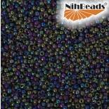 Zdjęcie - Koraliki NihBeads 12/0 Opaque – Lustered Iris