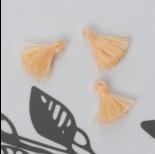 Zdjęcie - Mini chwost bawełniany brzoskwiniowy 10-15mm