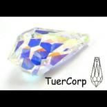 Zdjęcie - Swarovski tear drop 28mm crystal AB