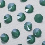 Zdjęcie - 1122 Swarovski rivoli stone Royal Green 12mm
