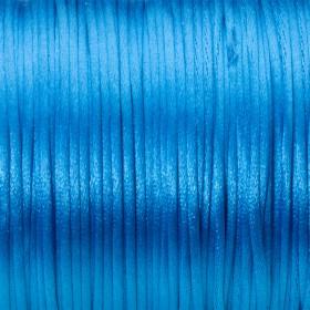 Zdjęcie - Sznurek gorsetowy 1mm niebieski