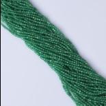 Zdjęcie - Onyks zielony kulka fasetowana 2.3mm