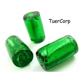 Zdjęcie - Szkło weneckie walec zielony 20mm