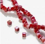 Zdjęcie - Ceramiczne kostki czerwone 10x10mm