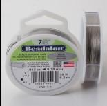 Zdjęcie - Linka stalowa Beadalon siedmiostrunowa 9.2m 0.3mm szara