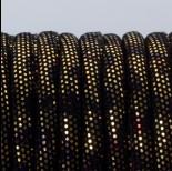 Zdjęcie - Rzemień szyty złoto azteków 6mm