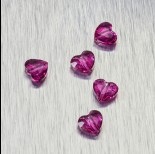 Zdjęcie - 5741 Swarovski love bead 8mm Fuchsia