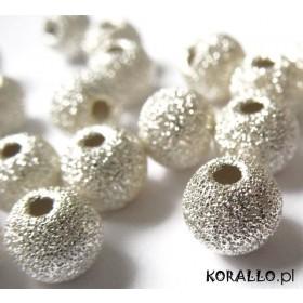 Zdjęcie - Kulki srebrne diamentowe 4mm, próba Ag925