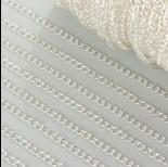 Zdjęcie - Łańcuszek simple duże oczka w srebrnym kolorze 3mm