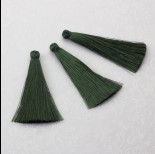 Zdjęcie - Chwost z wiskozy ciemny zielony 65mm