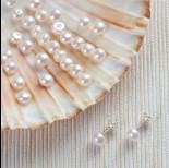 Zdjęcie - Naturalne perły do kolczyków 5,5-6mm