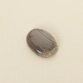 Zdjęcie - Krzemień pasiasty kaboszon owal 30x22 mm