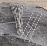 Zdjęcie - Szpilki srebrne talerzyki 6cm, Ag925