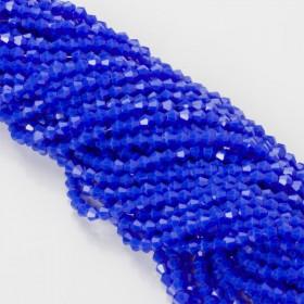 Zdjęcie - Kryształki bicone fasetowane 4mm full blue