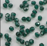 Zdjęcie - Fire Polish Dk Emerald (50740) 6mm