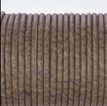 Zdjęcie - Rzemień klejony kawowy w literki 4mm