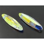 Zdjęcie - Swarovski ellipse 32mm crystal ab