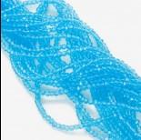 Zdjęcie - Kryształki kulki fasetowane aquamarine 2mm