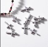 Zdjęcie - Zawieszka ze stali chirurgicznej krzyż 12,2mm