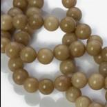 Zdjęcie - Jadeit marmurkowy kulka gładka cappucino 10mm