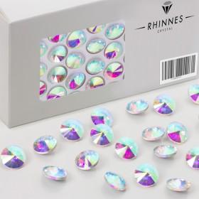 Zdjęcie - Rhinnes rivoli stone 12mm crystal AB
