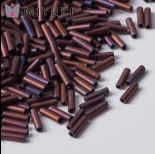 Zdjęcie - Koraliki Miyuki Bugles #2 6 mm Matted Metallic Copper