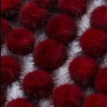 Zdjęcie - Pompon czerwony 4cm
