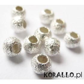 Zdjęcie - Kulki srebrne diamentowe 3mm, próba Ag925