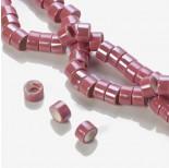 Zdjęcie - Ceramiczne walce różowe 13x8mm