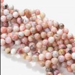 Zdjęcie - Opal różowy kulka gładka 10mm