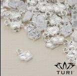 Zdjęcie - Zawieszka korona w srebrnym kolorze 9x7mm