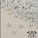 Zdjęcie - Przekładka oponka z kuleczkami w srebrnym kolorze 5.5mm